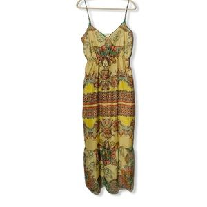 Gypsy a pea in a pod lined Maternity Maxi Dress